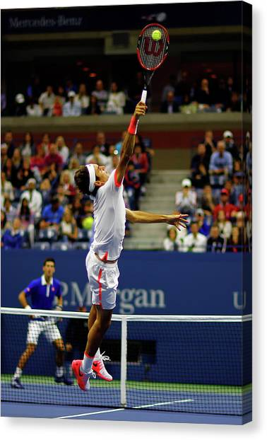 2015 U.s. Open - Day 14 Canvas Print