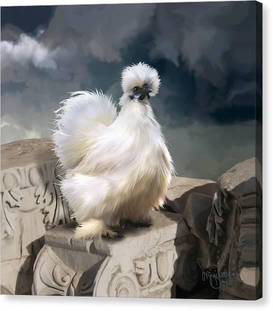 21. Silkie Akropolis Canvas Print