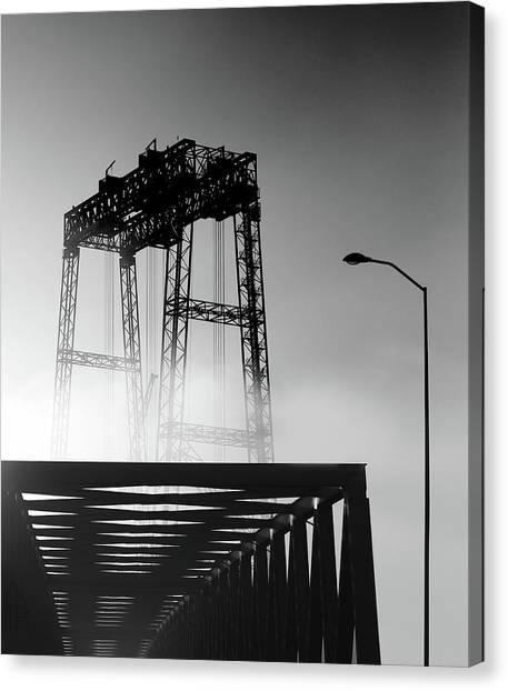 Cranes Canvas Print - Untitled by Anna Niemiec