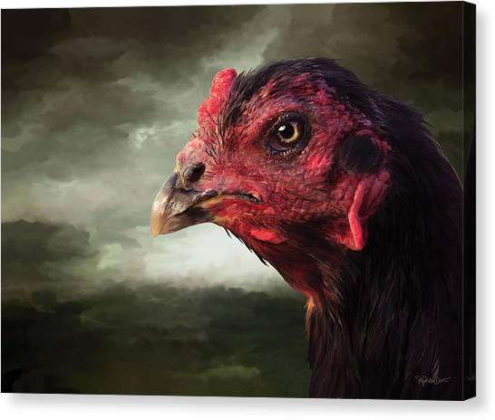 22. Game Hen Canvas Print