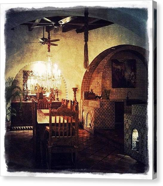 Hotels Canvas Print - Hacienda San Angel (puerto Vallarta) by Natasha Marco