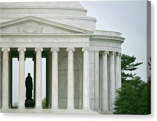 Jefferson Memorial Canvas Print - Usa, Washington, D by Jaynes Gallery