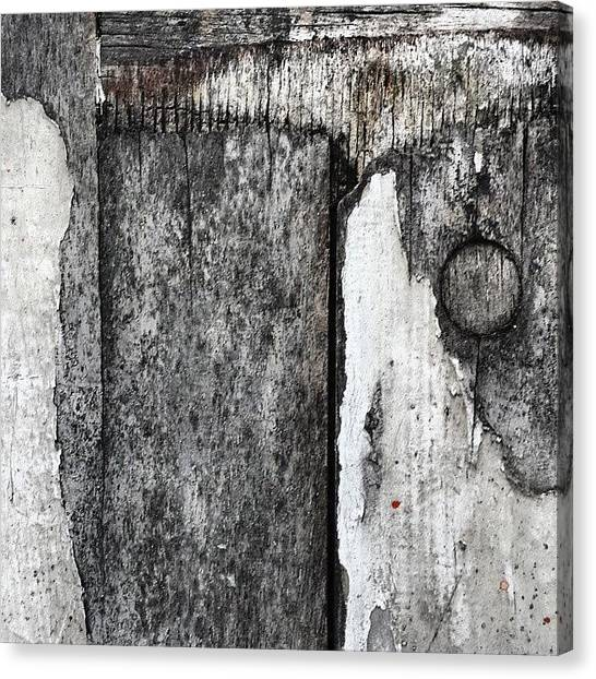 Abstract Canvas Print - Wood On The Wall by Jason Michael Roust
