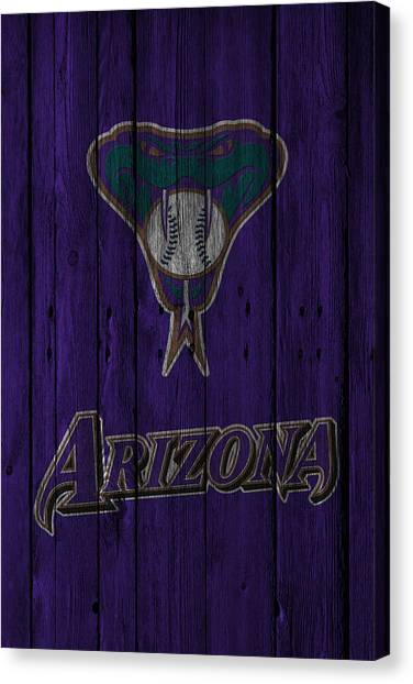Diamondbacks Canvas Print - Arizona Diamondbacks by Joe Hamilton
