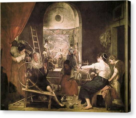 Fabric Of Society Canvas Print - Velazquez, Diego Rodr�guez De Silva by Everett