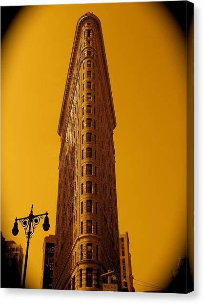 23rd Street And Broadway Canvas Print