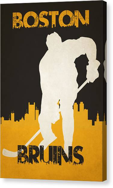 Boston Bruins Canvas Print - Boston Bruins by Joe Hamilton