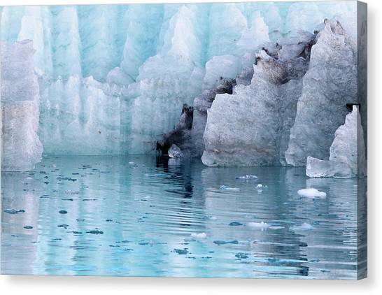 Margerie Glacier Canvas Print - Usa, Alaska, Glacier Bay National Park by Jaynes Gallery