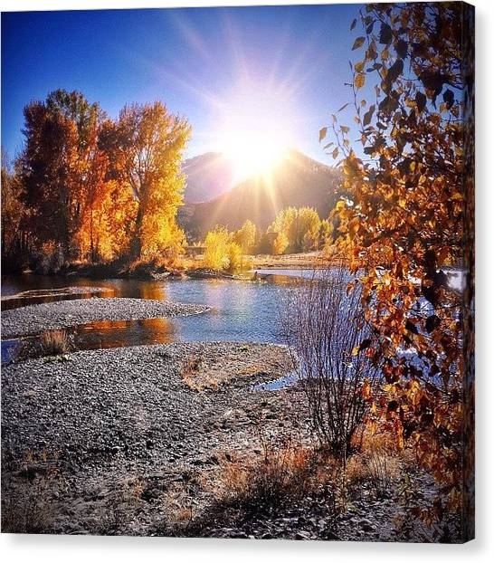 Idaho Canvas Print - Instagram Photo by Cody Haskell