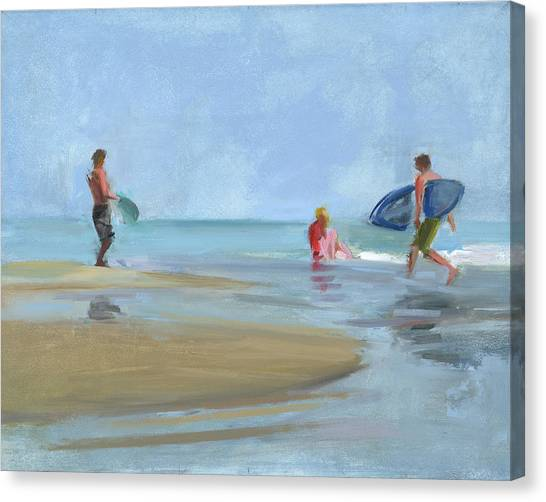 Surf Canvas Print - Rcnpaintings.com by Chris N Rohrbach