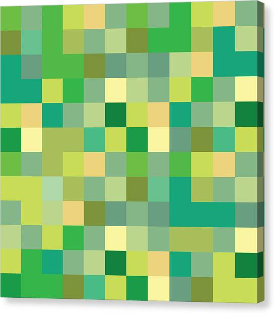 Pixel Art Canvas Print