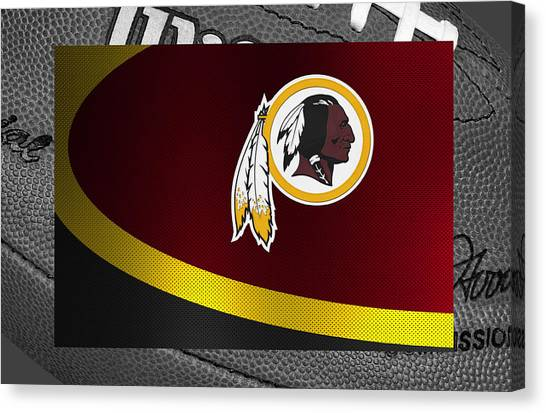 Washington Redskins Canvas Print - Washington Redskins by Joe Hamilton