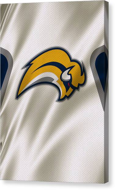 Buffalo Sabres Canvas Print - Buffalo Sabres by Joe Hamilton