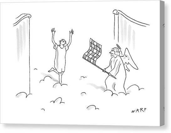 Warped Canvas Print - New Yorker May 7th, 2007 by Kim Warp