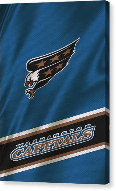 Washington Capitals Canvas Print - Washington Capitals by Joe Hamilton