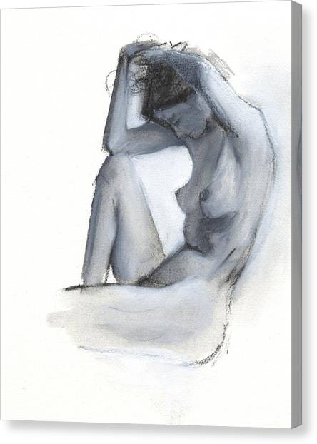 Woman Canvas Print - Rcnpaintings.com by Chris N Rohrbach