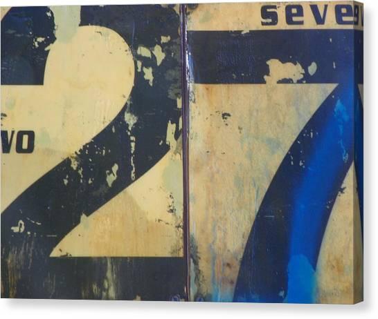 27 Canvas Print by Bernie Smolnik