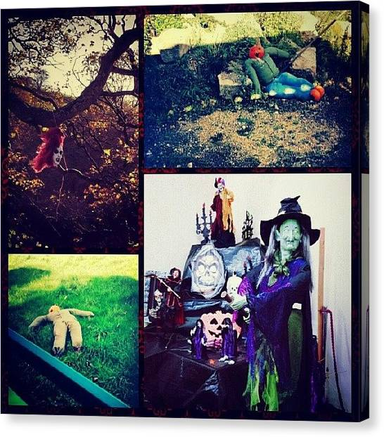 Witches Canvas Print - Instagram Photo by Vicky Combs