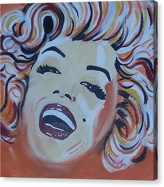 Marilyn Monroe Canvas Print - Miss Monroe by Ty Mabry