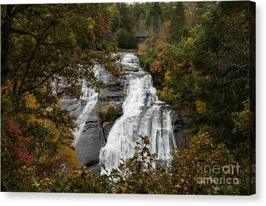 2757 High Falls Canvas Print by Stephen Parker