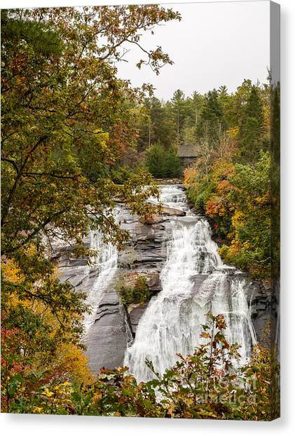 2759 High Falls Canvas Print by Stephen Parker