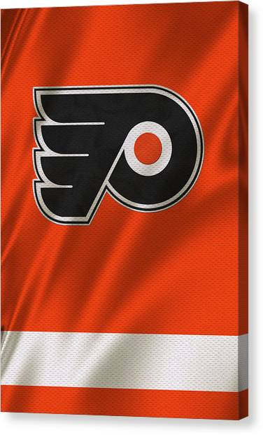 Philadelphia Flyers Canvas Print - Philadelphia Flyers by Joe Hamilton