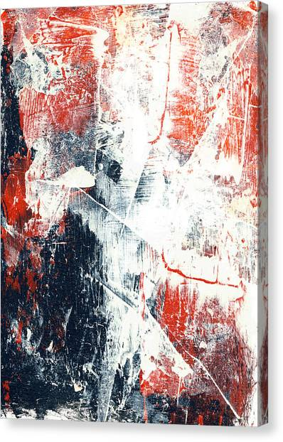 Moving On - Contemporary Abstract Painting Canvas Print