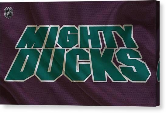 Anaheim Ducks Canvas Print - Anaheim Ducks by Joe Hamilton