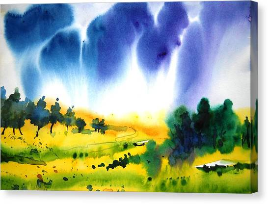 Sold Canvas Print by Sanjay Punekar