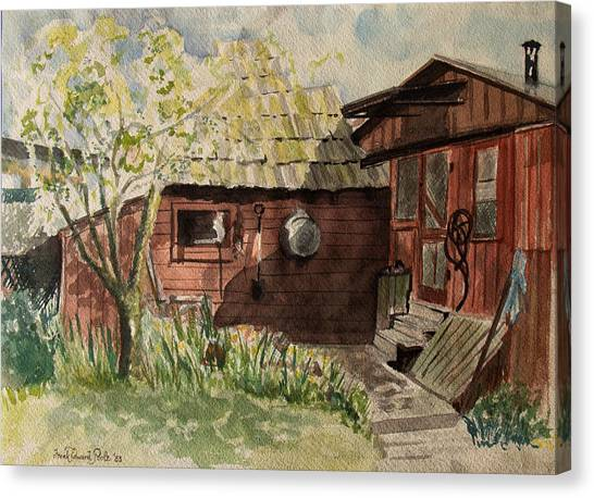 A Shanty Called Home Canvas Print