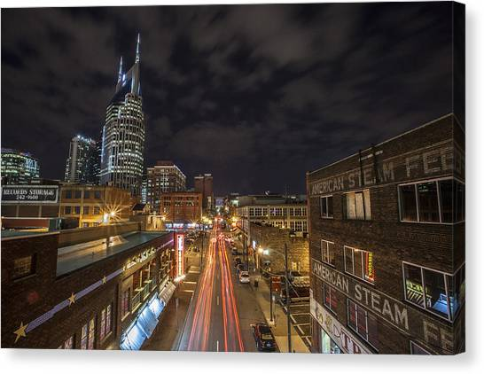 2nd Ave And Broadway Canvas Print