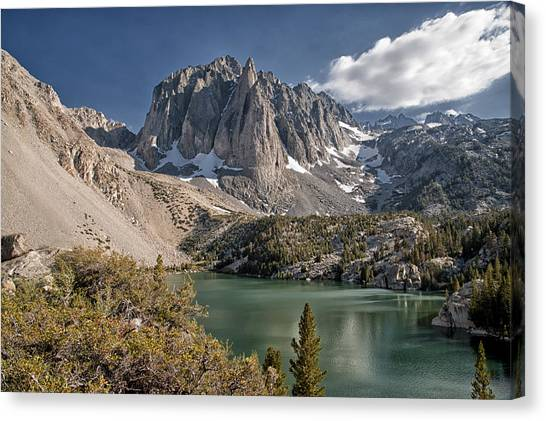 2nd Lake And Temple Crag Canvas Print