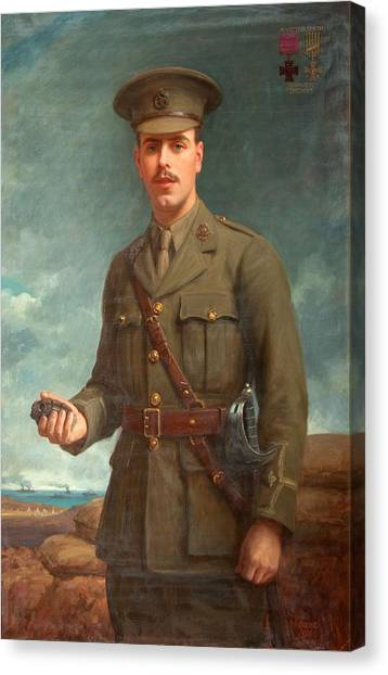 Grenades Canvas Print - 2nd Lieutenant Alfred Victor Smith, Vc by Isaac Cooke