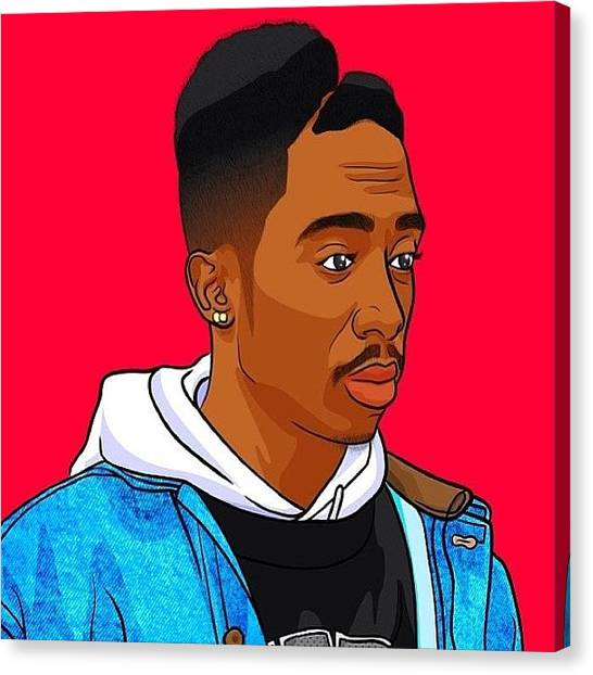 Juice Canvas Print - 2pac by King Tut
