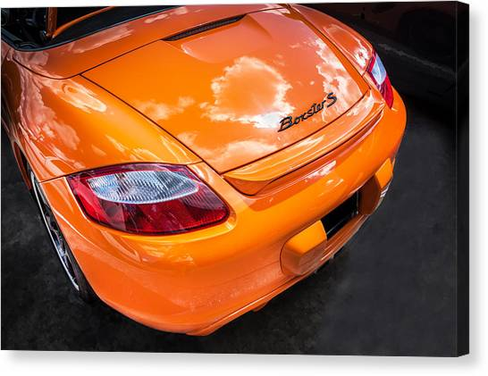 2008 Porsche Limited Edition Orange Boxster  Canvas Print