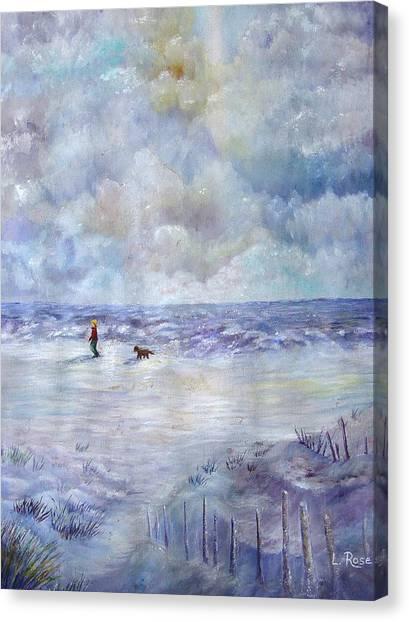 34th St. Beach Canvas Print