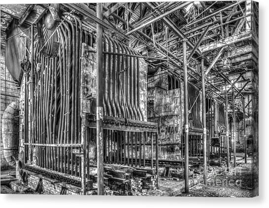 Abandoned Steam Plant Canvas Print