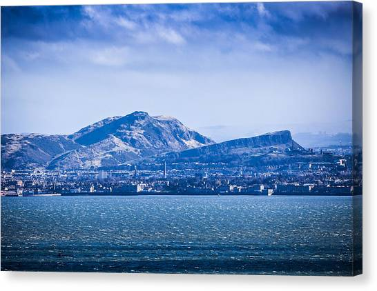 Arthur's Seat Canvas Print by Michael Schofield