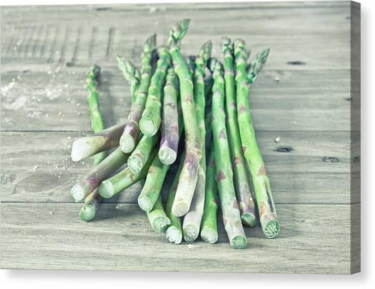Asparagus Canvas Print - Asparagus by Tom Gowanlock
