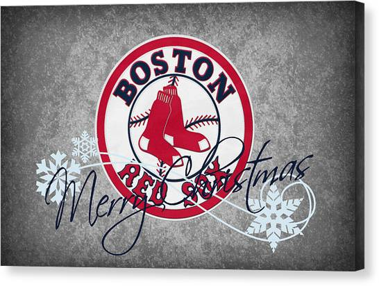 Boston Red Sox Canvas Print - Boston Red Sox by Joe Hamilton