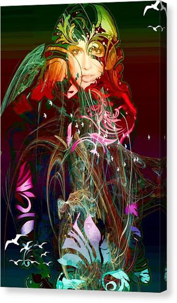 Britney  Canvas Print by Bogdan Floridana Oana