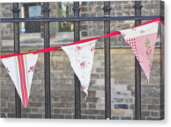 Buntings Canvas Print - Bunting by Tom Gowanlock