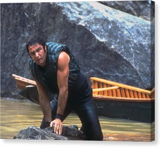Burt Reynolds Canvas Print - Burt Reynolds In Deliverance  by Silver Screen