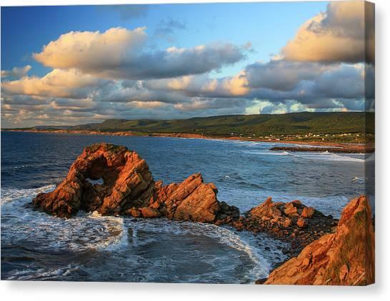 Cabot Trail Canvas Print - Canada, Nova Scotia, Cape Breton, Cabot by Patrick J. Wall