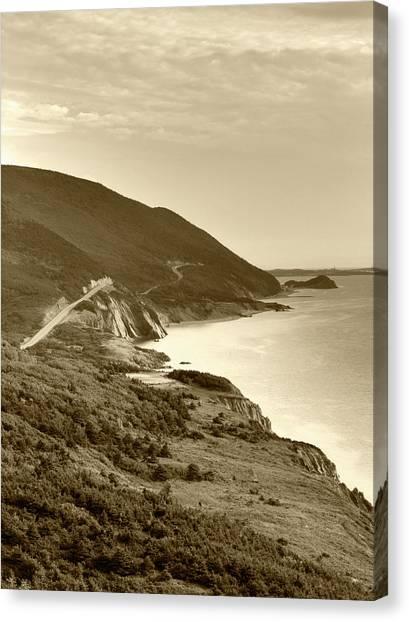 Cabot Trail Canvas Print - Canada, Nova Scotia, Cape Breton by Walter Bibikow
