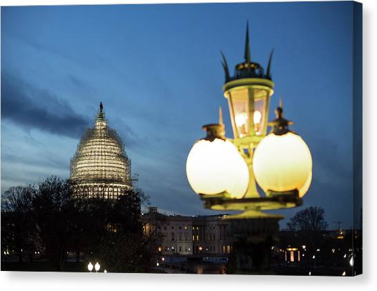 D.c. United Canvas Print - Capitol Building by Jim West