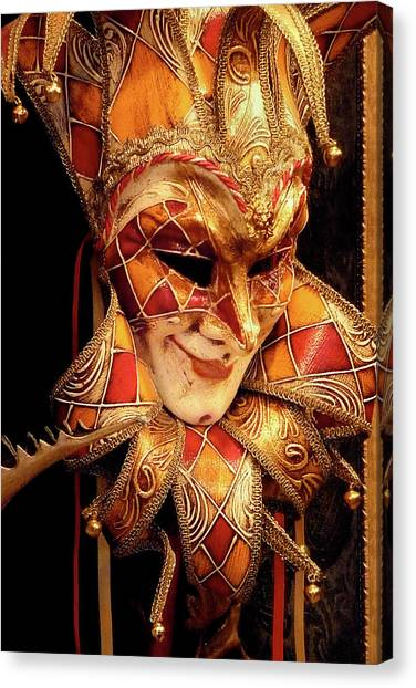 Carnivale Mask 1 Canvas Print