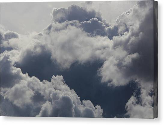 Cloudscape Canvas Print by Ron Romanosky