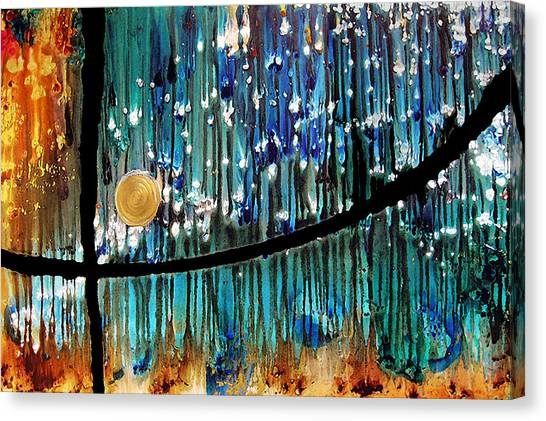 Buy Art Online Canvas Print - Colorful Abstract by Sharon Cummings
