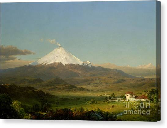Cotopaxi Canvas Print - Cotopaxi by Celestial Images
